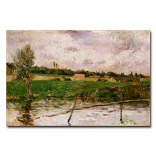 "<strong>Trademark Fine Art</strong> ""Brittany Countryside"" Canvas Art"