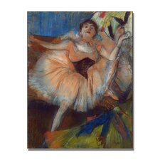 "<strong>Trademark Fine Art</strong> ""Seated Dancer, 1879"" Canvas Art"