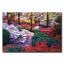"<strong>Trademark Fine Art</strong> ""April Beauties"" Canvas Art"