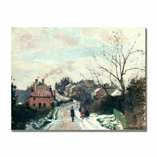"""""""Fox Hill, Upper Norwood"""" by Camille Pissarro Painting Print on Canvas"""