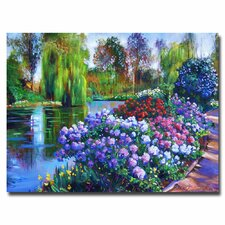 "<strong>Trademark Fine Art</strong> ""Promise of Spring"" Canvas Art"