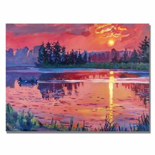 <strong>Trademark Fine Art</strong> 'Daybreak Reflection' Canvas Art