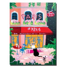 <strong>Trademark Fine Art</strong> Herbet Hofe 'Le Paris' Canvas Art