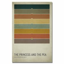 "<strong>Trademark Fine Art</strong> ""The Princess and the Pea"" Canvas Art"