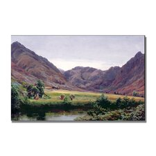 "<strong>Trademark Fine Art</strong> ""Haydays"" Canvas Art"