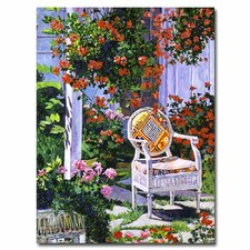 <strong>Trademark Fine Art</strong> 'The Sun Chair' Canvas Art