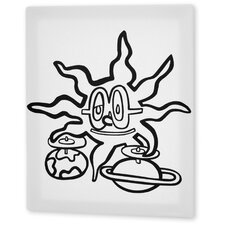 """""""Sunny and the Planets"""" Coloring Canvas Art"""