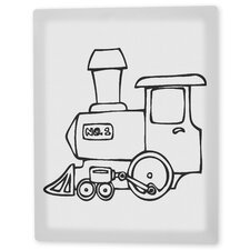 """Choo Choo Train"" Coloring Canvas Art"