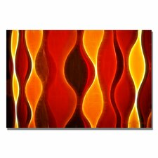 <strong>Trademark Fine Art</strong> 'Flame Larger' Canvas Art