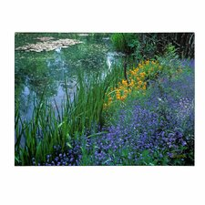 'Monet's Lily Pond' Canvas Art