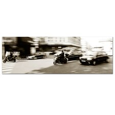 <strong>Trademark Fine Art</strong> 'Parisian Rush Hour' Canvas Art
