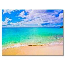 'Maho Beach' by Preston Photographic Print on Canvas
