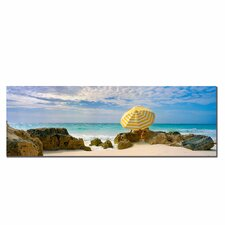 <strong>Trademark Fine Art</strong> 'Bermuda Umbrella' Canvas Art