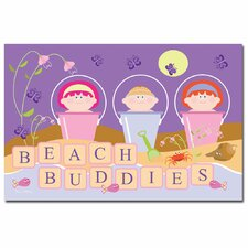 'Beach Buddie' Canvas Art