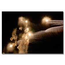 <strong>Trademark Fine Art</strong> 'Abstract Fireworks 34' Canvas Art