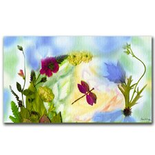 <strong>Trademark Fine Art</strong> 'Dragonfly Dream' Canvas Art