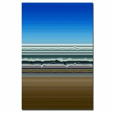 <strong>Trademark Fine Art</strong> 'Sky Water Sand' Canvas Art
