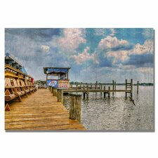 <strong>Trademark Fine Art</strong> 'On the Dock II' Canvas Art