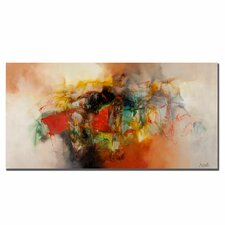 'Abstract VI' Graphic Art on Canvas