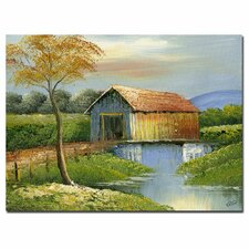 <strong>Trademark Fine Art</strong> 'Old Bridge' Canvas Art