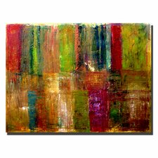Color Abstract Canvas Art by Michelle Calkins