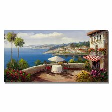 'Italian Afterernoon' Canvas Art