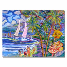 <strong>Trademark Fine Art</strong> 'Maui Surf' Canvas Art