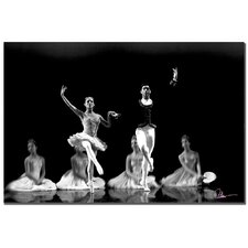 <strong>Trademark Fine Art</strong> 'Ballet II' Canvas Art