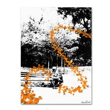 <strong>Trademark Fine Art</strong> 'Orange Butterflies' Canvas Art
