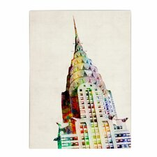 <strong>Trademark Fine Art</strong> 'Chrysler Building' Canvas Art