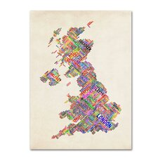 <strong>Trademark Fine Art</strong> 'United Kingdom I' Canvas Art