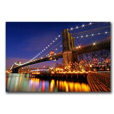 <strong>Trademark Fine Art</strong> 'City of Dreamers' Canvas Art