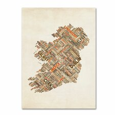 <strong>Trademark Fine Art</strong> 'Ireland III' Canvas Art