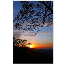 <strong>Trademark Fine Art</strong> 'Drip with Sunset' Canvas Art