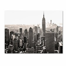 <strong>Trademark Fine Art</strong> 'Manhattan' Canvas Art