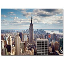<strong>Trademark Fine Art</strong> 'Empire View' Canvas Art