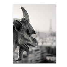 <strong>Trademark Fine Art</strong> 'Gargoyle Paris' Canvas Art