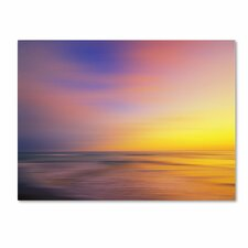<strong>Trademark Fine Art</strong> 'Metallic Sunset' Canvas Art