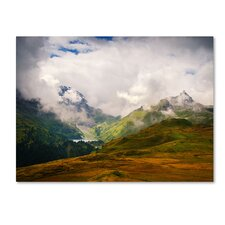 <strong>Trademark Fine Art</strong> 'Peaceful Switzerland' Canvas Art