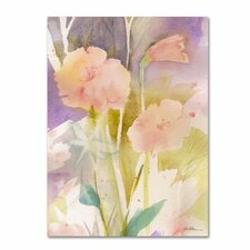 <strong>Trademark Fine Art</strong> 'Pink Dragonfly Shadows' Canvas Art