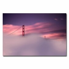 <strong>Trademark Fine Art</strong> 'San Francisco Fog' Canvas Art