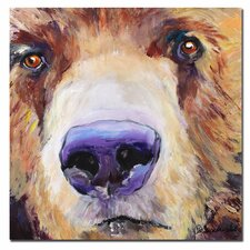 <strong>Trademark Fine Art</strong> 'The Sniffer' Canvas Art