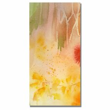 <strong>Trademark Fine Art</strong> 'Woodflowers I' Canvas Art
