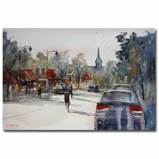 <strong>Trademark Fine Art</strong> 'Cedarburg Impressions of Summer' Canvas Art
