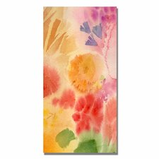 <strong>Trademark Fine Art</strong> 'Woodflowers II' Canvas Art