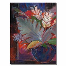 <strong>Trademark Fine Art</strong> 'Tropic Night'  Canvas Art