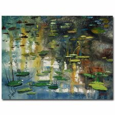 <strong>Trademark Fine Art</strong> 'Faces in the Pond' Canvas Art