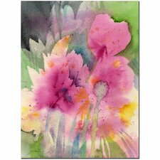 <strong>Trademark Fine Art</strong> 'Mouve Garden' Canvas Art