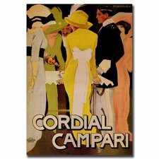 <strong>Trademark Fine Art</strong> 'Cordial Campari' Canvas Art