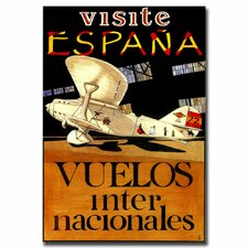 <strong>Trademark Fine Art</strong> 'Visit Espana' Canvas Art